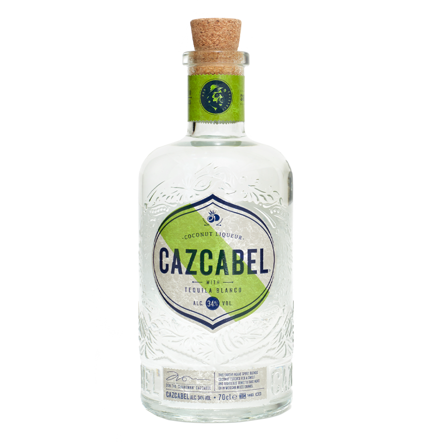 Cazcabel Tequila Blanco Bottle